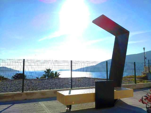 Solarna klupa Herceg Novi 2