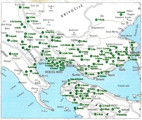 karta crnogorskog primorja Dobro došli na interportal Opštine Herceg Novi karta crnogorskog primorja